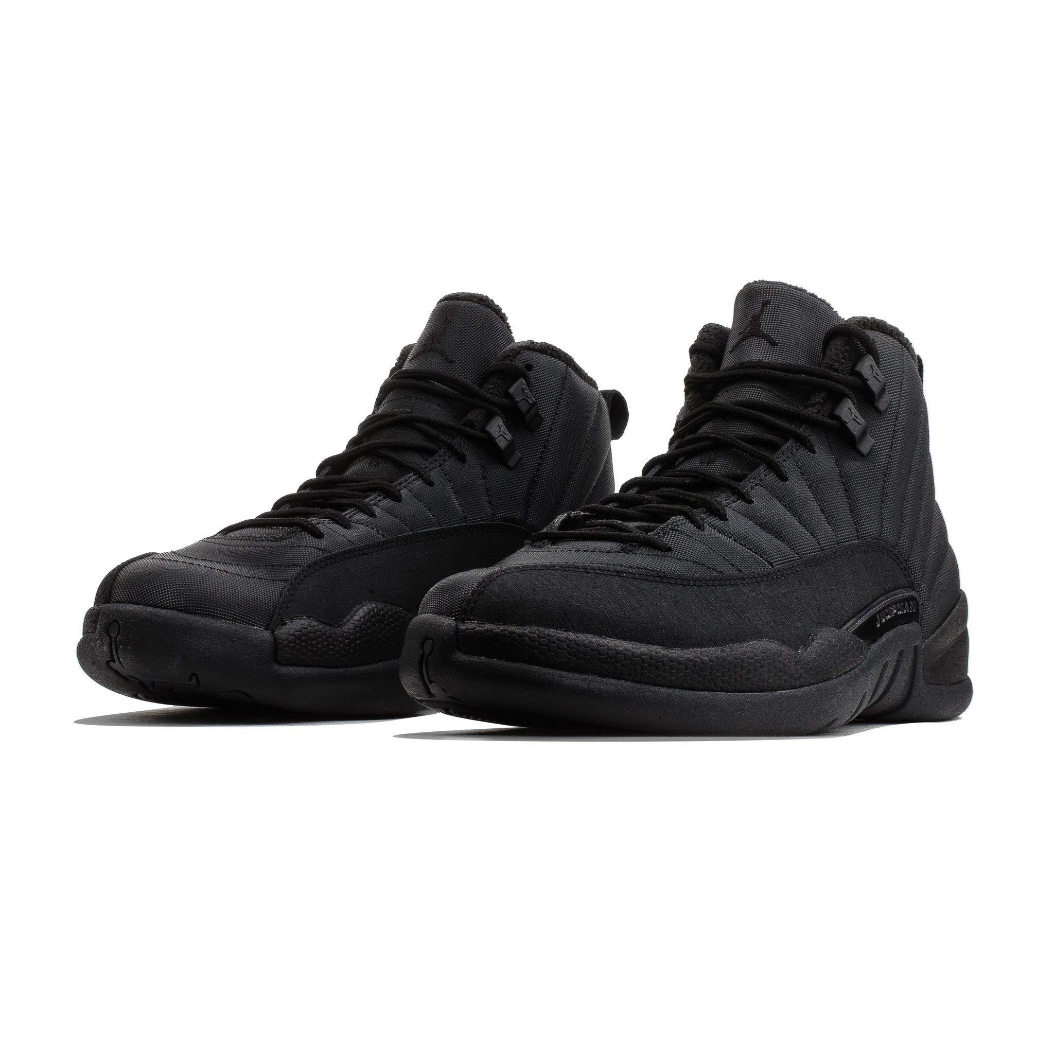 8de853ea521468 AIR Jordan 12 Winterized Triple Black BQ6851-001 US Size 7 – Premium ...