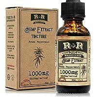Hemp Oil 1000mg :: Hemp Oil for Pain :: Stress Relief, Mood Support, Healthy Sleep...