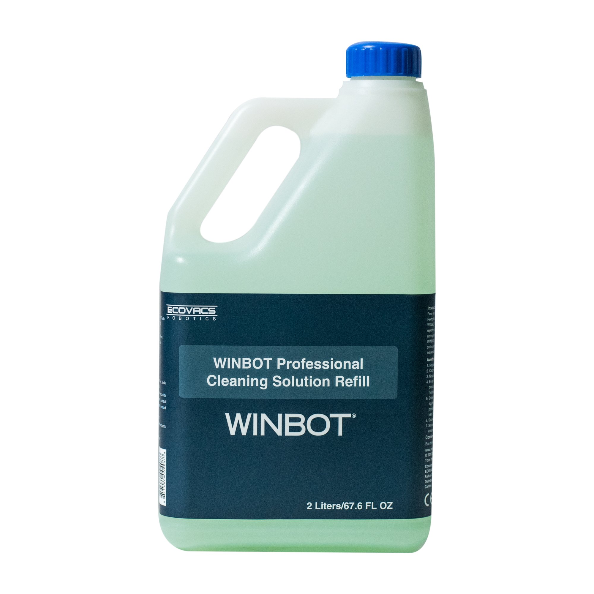 WINBOT Professional Cleaning Solution Refill, Half Gallon