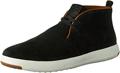 Cole Haan Men's Grandpro Chukka Boot, Black Suede, ...