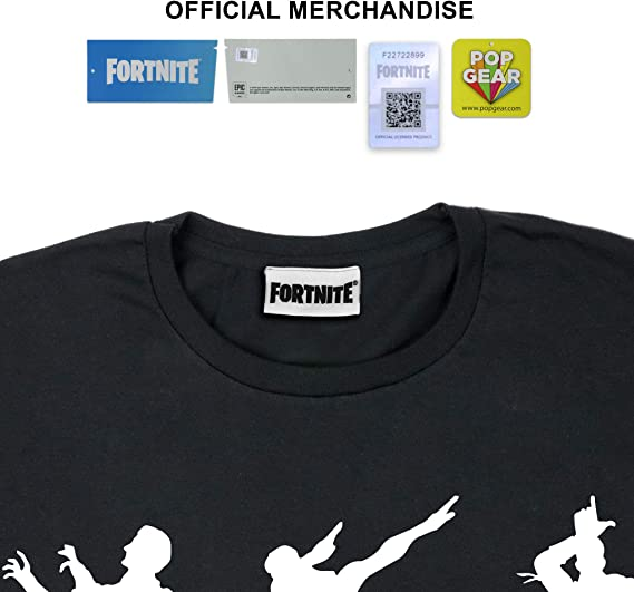 Official Merchandise Childrens Clothes PS4 PS5 Xbox PC Gamer Gifts Fortnite Dance Moves Boys T-Shirt Kids Birthday Gift Idea Tween Teen School Boys Gaming Top