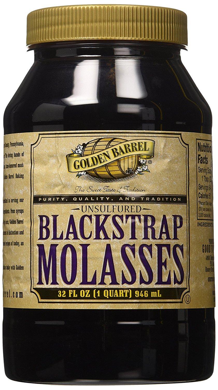 Golden Barrel Unsulfured Blackstrap Molasses (3 pack)