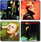 David Bowie Coasters 4 Piece Coaster Set 1