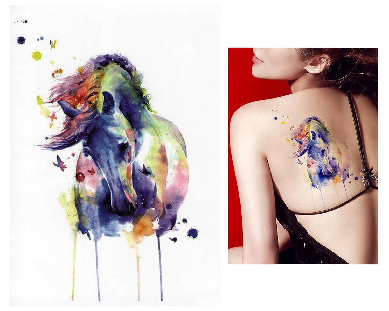 Tatuajes temporales Tempo rary Tattoo Fake Tattoo – De caballo de ...