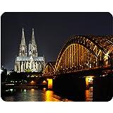 Mousepad Köln Dom Nacht