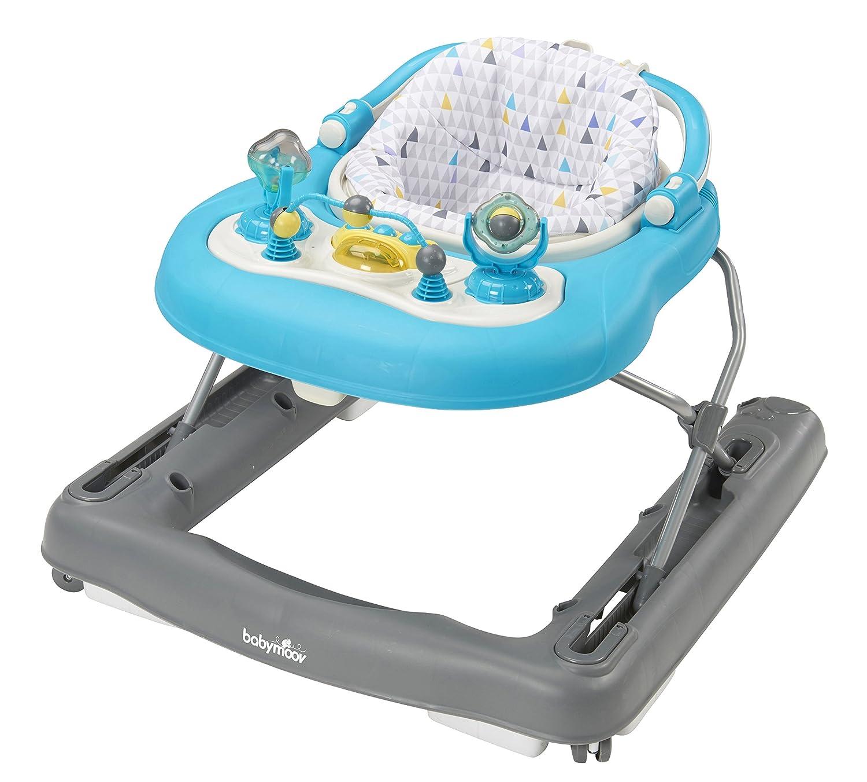 Babymoov 2-in-1 Baby Walker, Petrol A040007