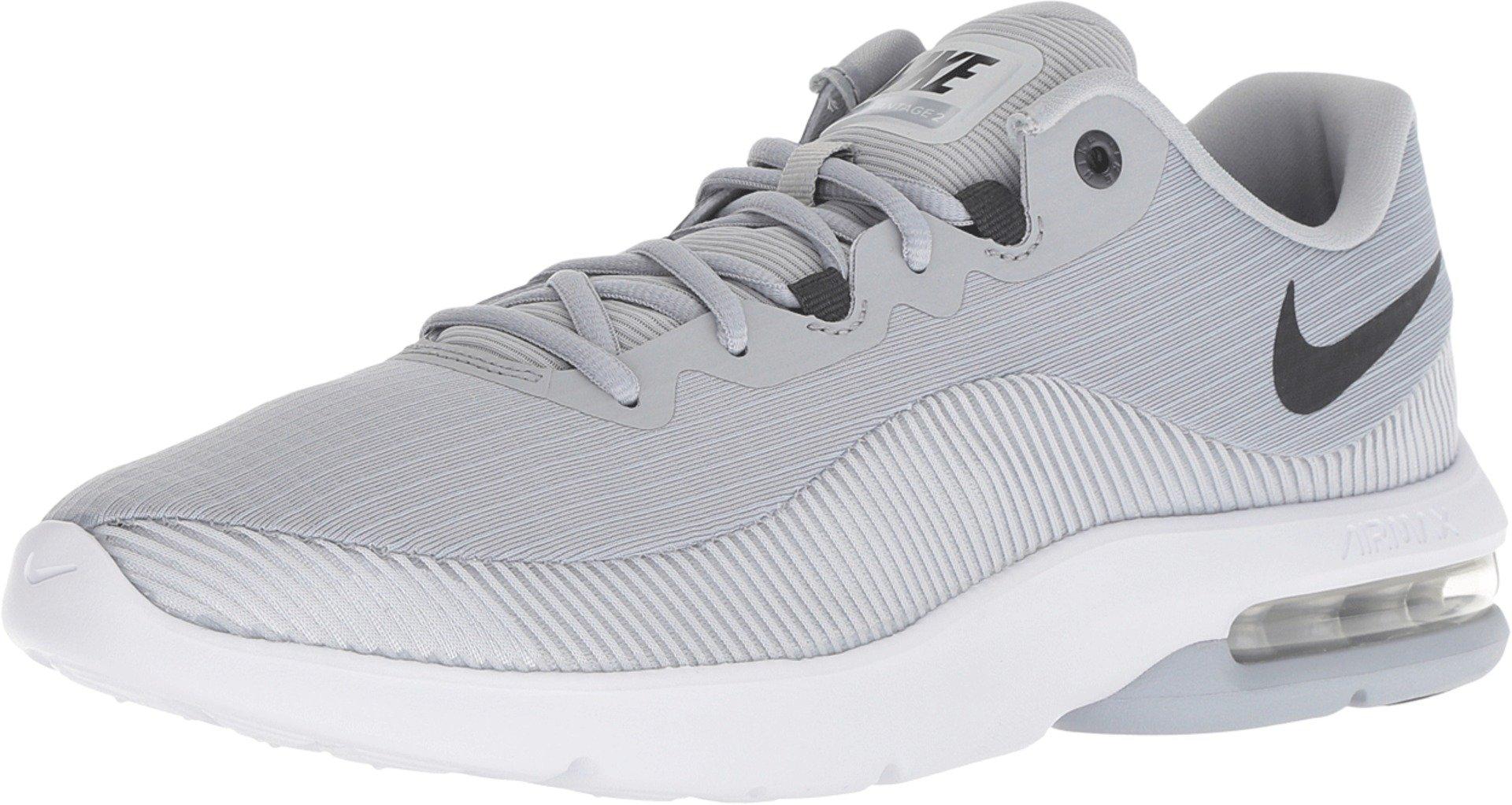 Nike Men's Air Max Advantage 2 Running Shoe, Wolf GreyAnthracite Pure Platinum White, 10