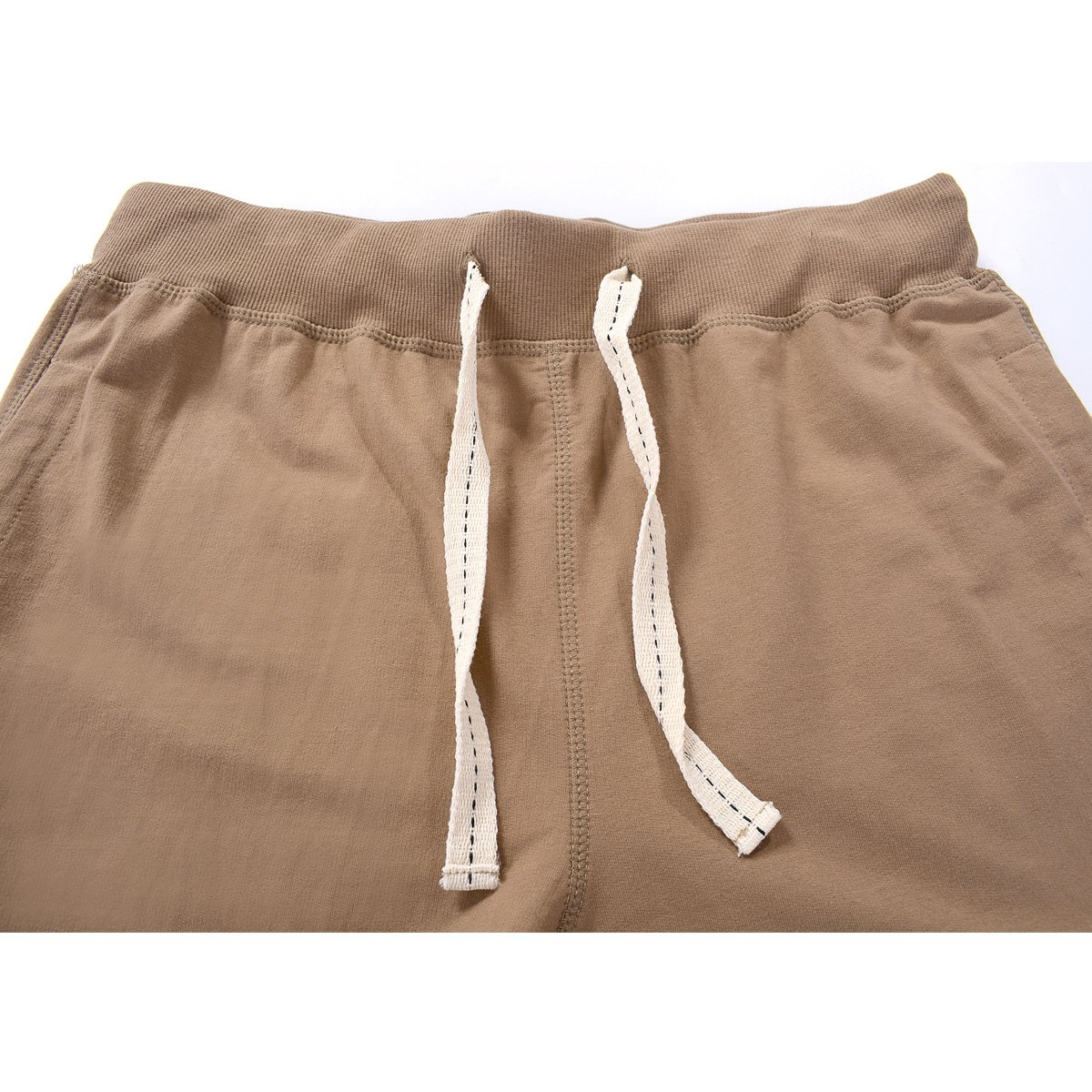 Amy Coulee Men's Cotton Casual Short with Pockets (S, Brown) by Amy Coulee (Image #3)