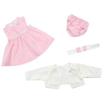The Doll Factory Vestido Bebe muñeca Bebe reborn Baby reborn Bebes reborn - ropa muñeca 42