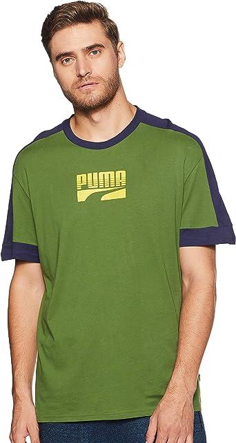 PUMA Rebel Block tee - Camiseta Hombre: Amazon.es: Ropa y accesorios