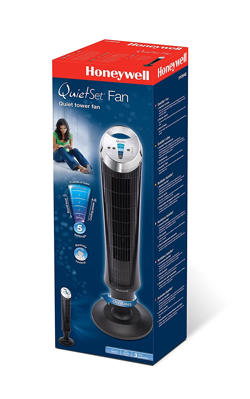 Honeywell HY254E QuietSet Tower Fan: Amazon.co.uk: Kitchen & Home