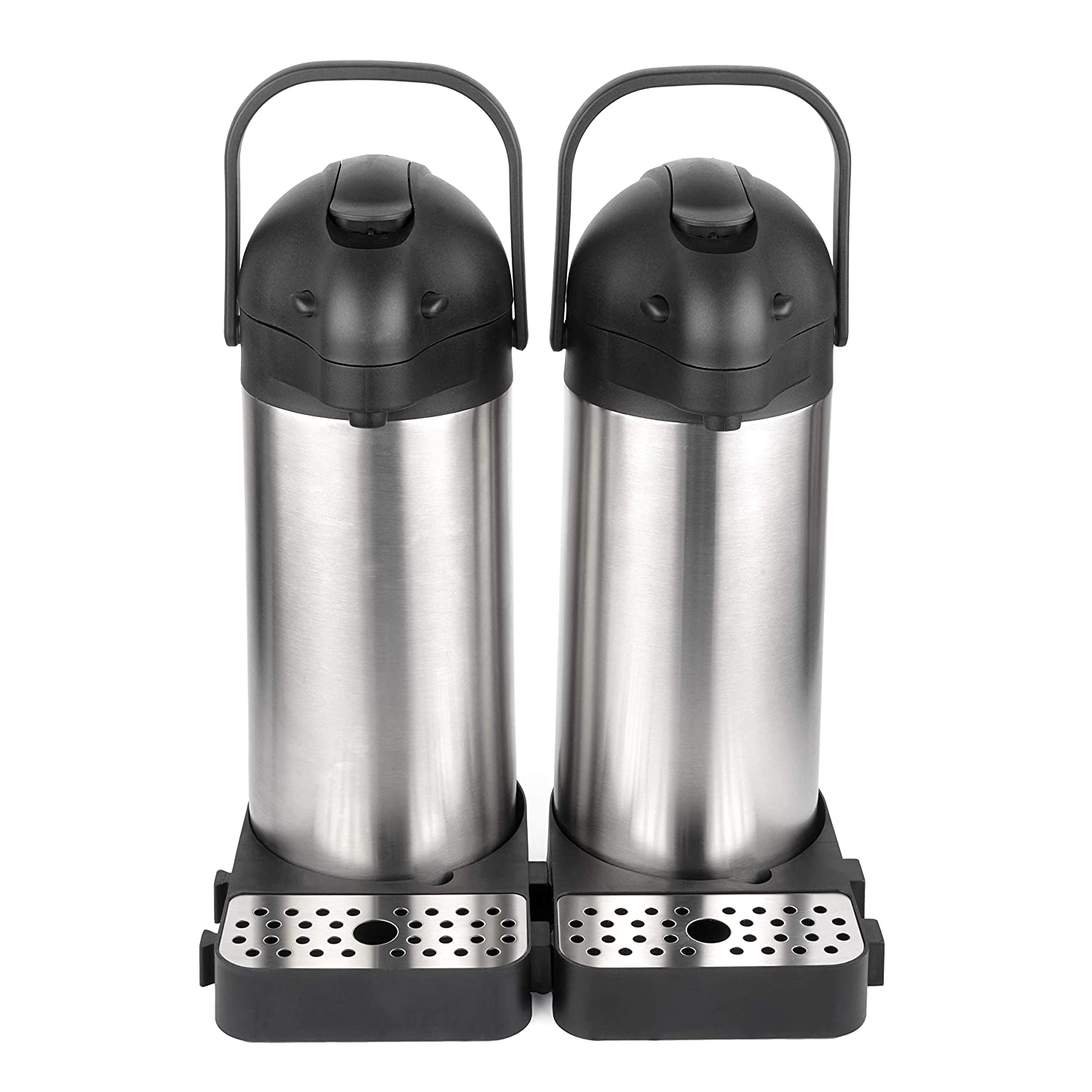 12 Hour Heat Retention **LAUNCH SALE** 2.2 Litre Airpot Thermal Coffee Carafe//Lever Action//Stainless Steel Insulated Thermos 24 Hour Cold Retention