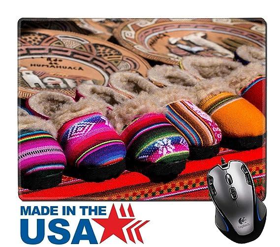 MSD alfombrilla de ratón Caucho Natural Pad/con esquinas con costura 9,8 x 7,9 imagen ID 20437150 telas de colores en el mercado en el Perú: Amazon.es: ...