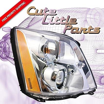 Amazon Com Cadillac Dts 06 07 08 09 10 11 Hid Type Head Light With