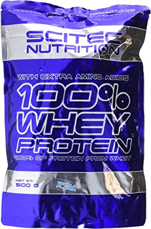 Scitec Nutrition Whey Protein Proteína Vainilla - 500 g ...