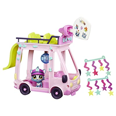 Littlest Pet Shop LPS Shuttle: Toys & Games