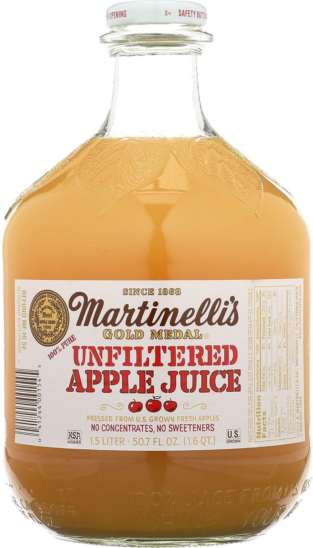 Martinelli's, Juice Apple Unfiltered, 50.7 Fl Oz