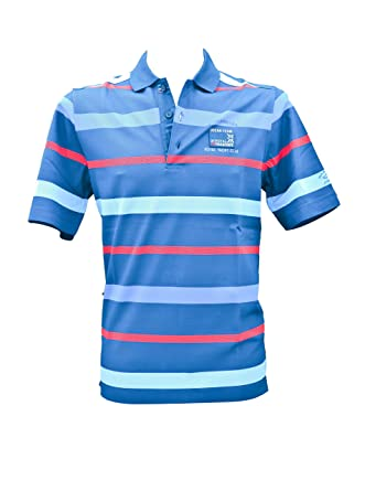PAUL & SHARK - Polo Slimfit BLU A Righe Medium: Amazon.es: Ropa y ...