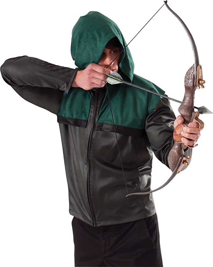 Amazon.com Rubieu0027s Costume Arrowu0027s Bow and Arrow Set Brown One Size Clothing  sc 1 st  Amazon.com & Amazon.com: Rubieu0027s Costume Arrowu0027s Bow and Arrow Set Brown One ...