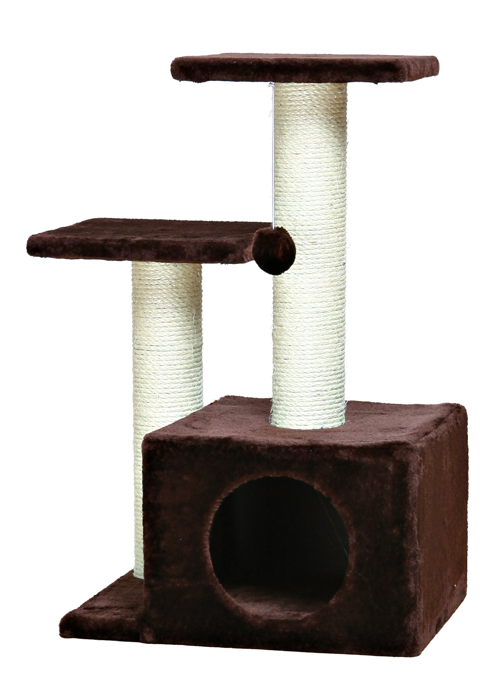 Trixie Pet Products Chocolate Brown Valencia Cat Tree