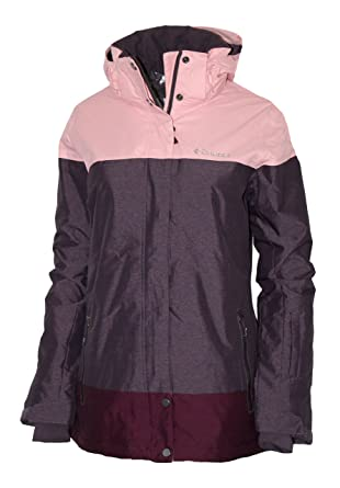 144218c66d Amazon.com  Columbia Women s Snowshoe Mountain Omni Heat Waterproof Hooded Ski  Jacket  Clothing