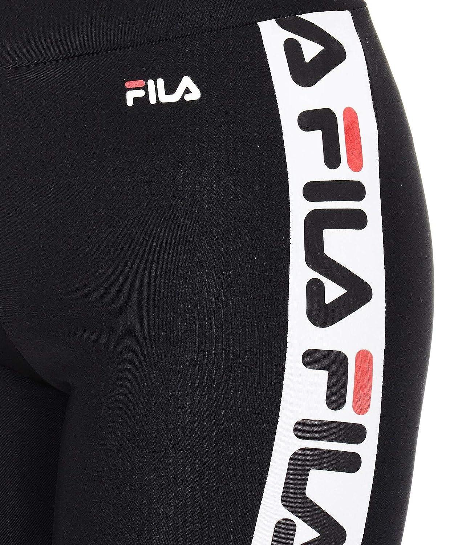 Fila Femme 682122002 Noir Polyester Leggings