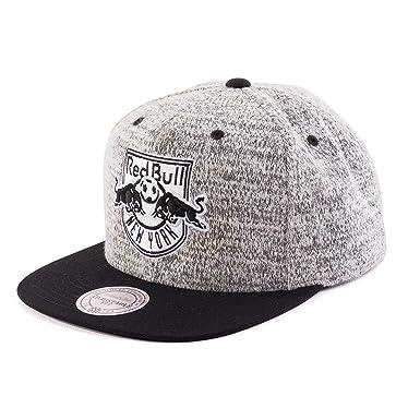 Mitchell   Ness MLS New York Red Bull Grey Duster EU957 Snapback Cap  Basecaps 6fe27f3a7c05