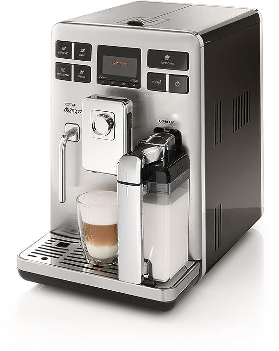 Saeco HD8854/01 - Cafetera de espresso automática Exprelia, 1500 W: Amazon.es: Hogar