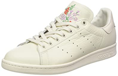 adidas Stan Smith, Baskets Homme, White Grey