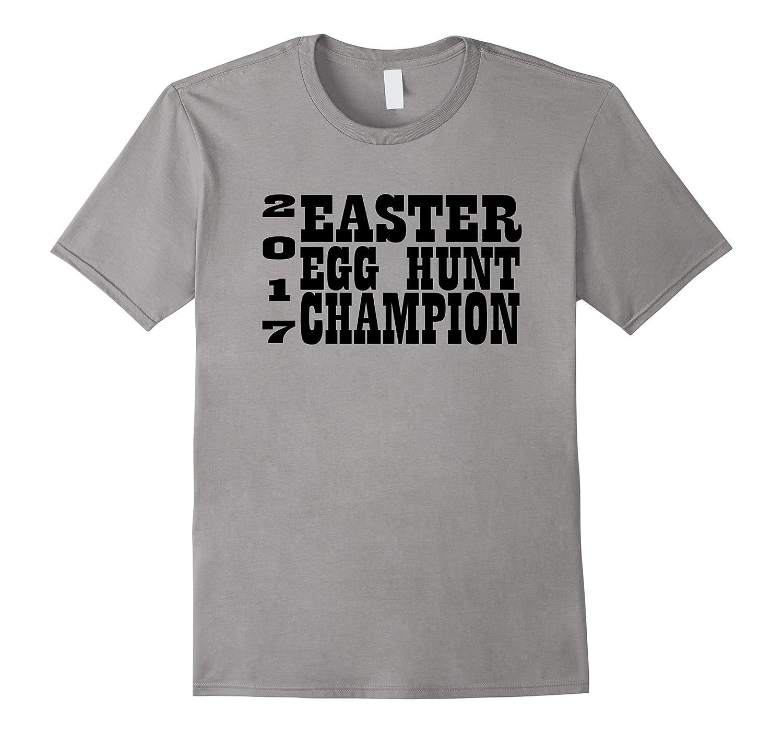 2017 Easter Egg Hunt Champion Minimal Design T-Shirt-CD