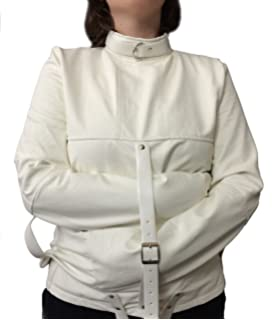 Amazon.com: Asylum Patient Straight Jacket L/XL, White: Health ...