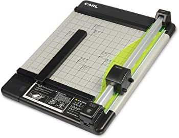 Carl CUI12210 Heavy-Duty Rotary Paper Trimmer