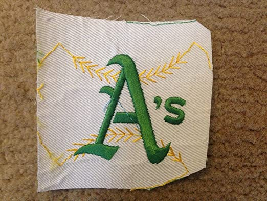 Amazon.com: 1970 VINTAGE OAKLAND AS ATHLETICS RAW IRON ON ...