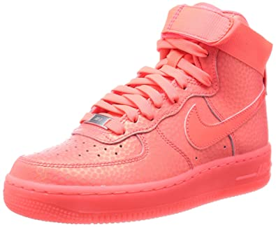 best sneakers 3ab35 befa5 Amazon.com   Nike Women s Air Force 1 High Premium Hot Lava Pink Shoes,  Sneakers 654440 800 (11.5, Pink Hot Lava )   Fashion Sneakers