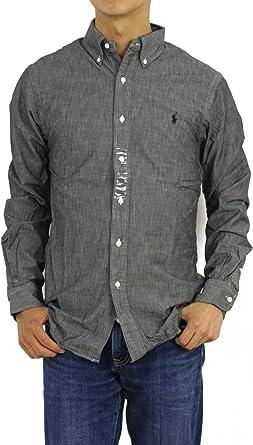 Polo Ralph Lauren Hombre Camisa de popelín Fit Slim deporte