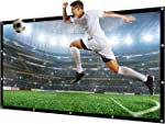 NIERBO 300 Inches16:9 Projector Screen Large Outdoor Portable Movies Screen Canvas