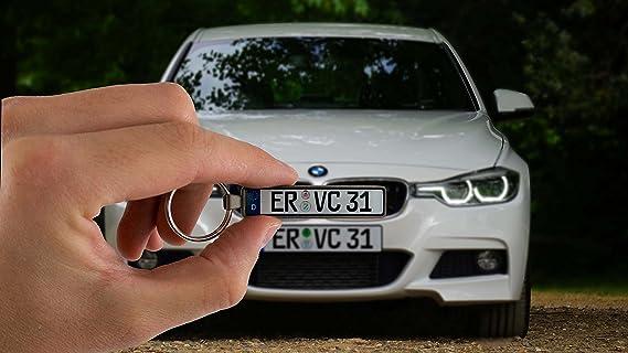 Kennzeichen Schlüsselanhänger für VW VOLKSWAGEN BMW MERCEDES-BENZ OPEL AUDI FORD