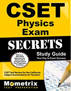 Cset science exam secrets study guide cset test review for the cset physics exam secrets study guide cset test review for the california subject examinations for fandeluxe Image collections