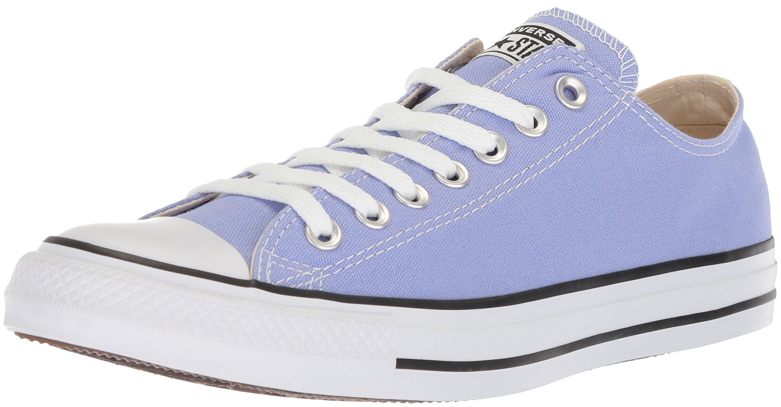 Converse Chuck Taylor All Star Seasonal Canvas Low Top Sneaker, Twilight Pulse, 6.5 US Men/8.5 US Women