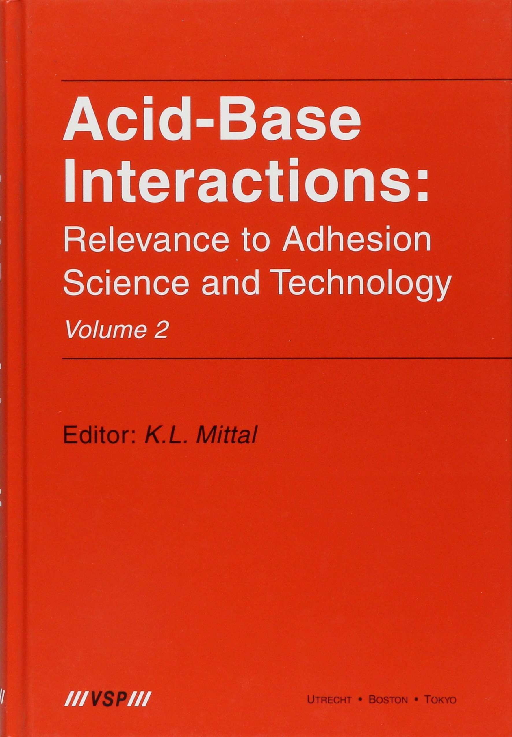 Download Acid-Base Interactions: Relevance to Adhesion Science and Technology, Volume 2 (Vol 2) pdf epub