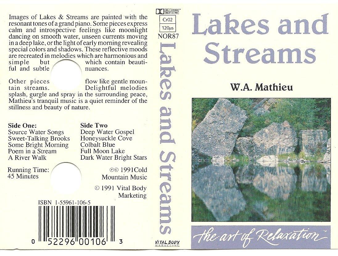 W a  Mathieu - Lakes & Streams - Amazon com Music