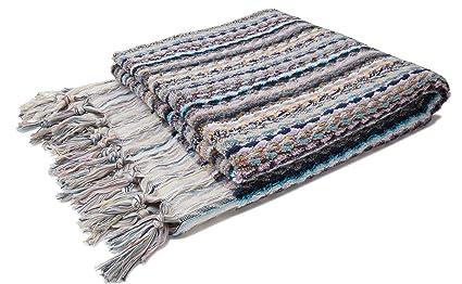 ZusenZomer Lujo Toallas (Toalla con Flecos | 80 x 160 cm | 100% Algodón
