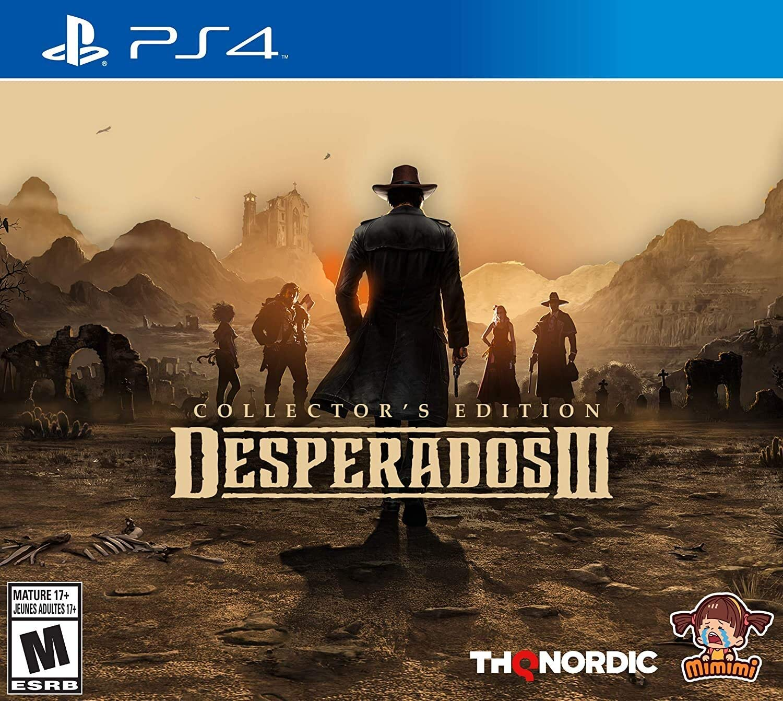 Amazon Com Desperados Iii Collector S Edition Ps4 Playstation 4 Collector S Edition Video Games