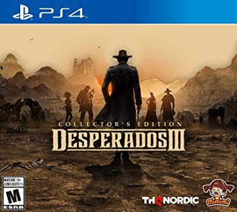 Amazon Com Desperados Iii Collector S Edition Ps4 Playstation 4 Collector S Edition Video Games