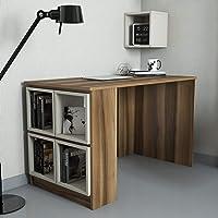 Variant Box Çalışma Masası (Ceviz/Krem (Kutu))