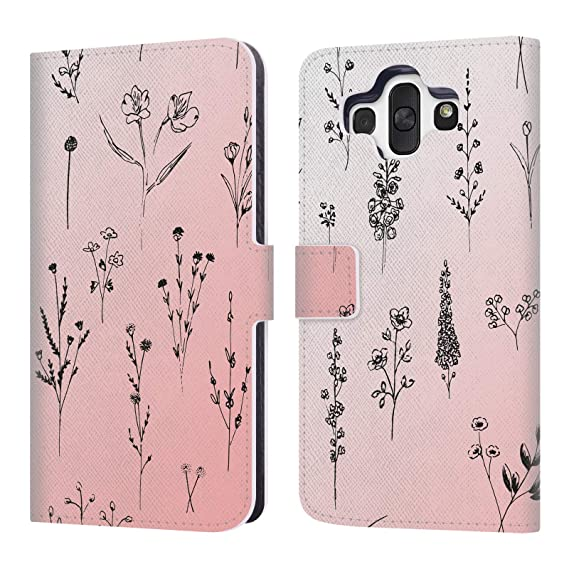 uk availability 441ae 0240e Amazon.com: Official Anis Illustration Wildflowers Flowers Leather ...