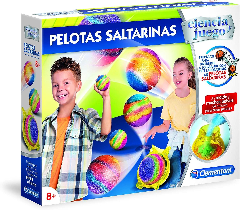 Clementoni - Juego Pelotas saltarinas (55286): Amazon.es: Juguetes ...