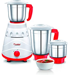 1a2cb393f Buy Prestige Flair (550 Watt) Mixer Grinder with 3 Stainless Steel ...