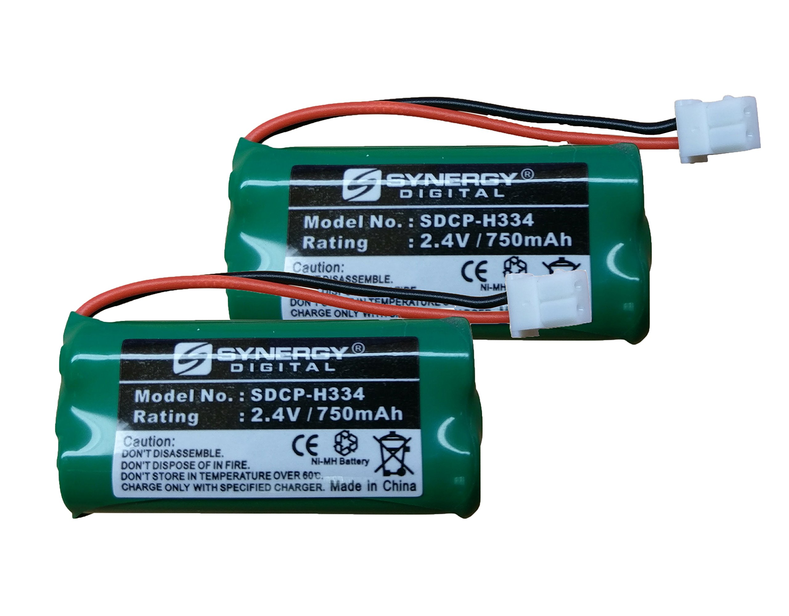 Vtech IS7121-22 Cordless Phone Battery Combo-Pack Includes: 2 x SDCP-H334 Batteries
