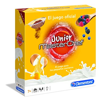 Clementoni-Juego de Mesa Masterchef Junior, (552450)